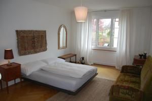 A bed or beds in a room at Maison Mosgenstein
