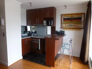 Una cocina o zona de cocina en Travel Place Andino