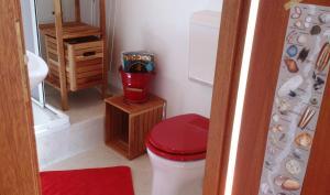 Vonios kambarys apgyvendinimo įstaigoje Repelsteeltje op Terschelling