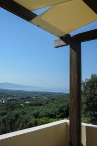 A balcony or terrace at Villa Nimertis