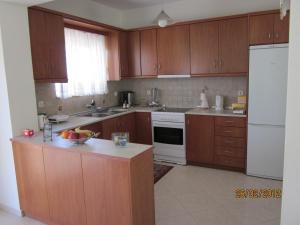 Kuchyň nebo kuchyňský kout v ubytování Sunshine Villa