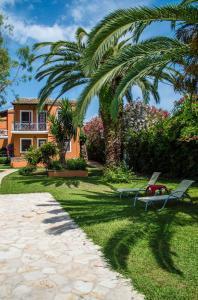 Jardin de l'établissement Folies Corfu Town Hotel Apartments