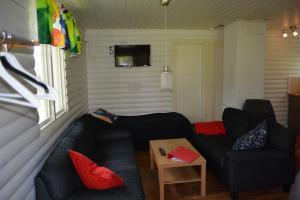 Zona de estar de Svinö Seaside Villa
