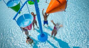 Ein Wasserpark in der Ferienwohnung oder in der Nähe