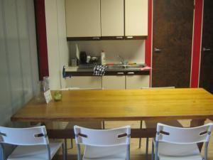 Majoituspaikan Apartementos Tohmajärvi keittiö tai keittotila
