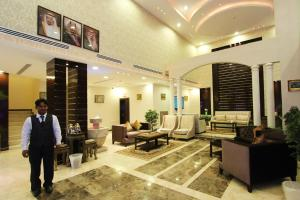 The lobby or reception area at Wardnal Furnished Units