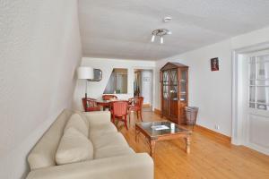 Ein Sitzbereich in der Unterkunft Apartments Friederike