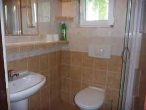 A bathroom at Penzion Olšina 31