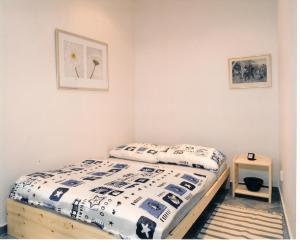 Кровать или кровати в номере Residence Konvi