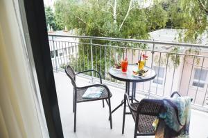 מרפסת או טרסה ב-Heritage Home Apartments
