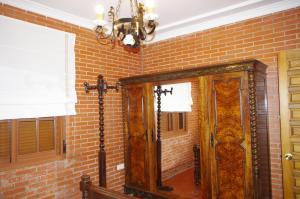 A bathroom at Finca Barreras