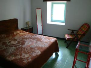 A bed or beds in a room at Lovely Mountain House