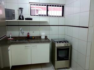 A kitchen or kitchenette at Apartamento Asturias