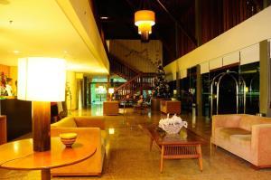 The lobby or reception area at Studio Resort Porto de Galinhas