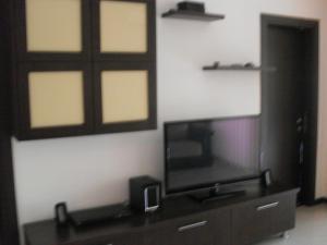 Un televizor și/sau centru de divertisment la Apartamente Club Bosco
