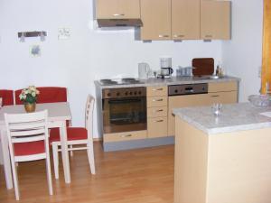 מטבח או מטבחון ב-Haus Rosenegg