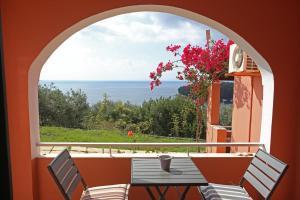 A balcony or terrace at Casa Kalami