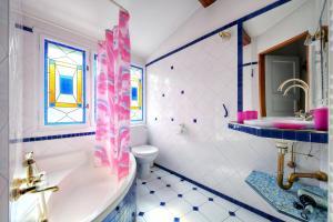 Um banheiro em Apartment Konvikt