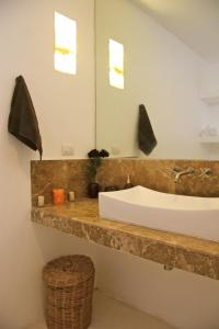 A bathroom at Casa Sak Tuunich
