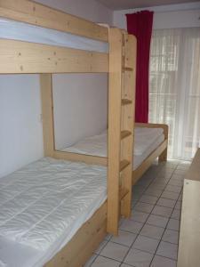 Ein Etagenbett oder Etagenbetten in einem Zimmer der Unterkunft Apartment Orion 14