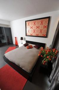Un ou plusieurs lits dans un hébergement de l'établissement Apartment BeFlats