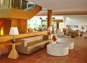 The lobby or reception area at Flat no Beach Class Resort
