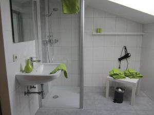 A bathroom at Ferienwohnungen Novak