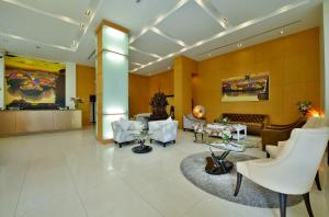 The lobby or reception area at Abloom Exclusive Serviced Apartments