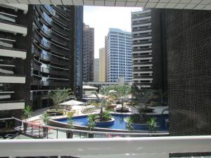 A view of the pool at Apartamentos Landscape or nearby