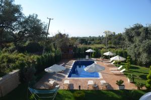 A view of the pool at Vila Florika Hotel or nearby