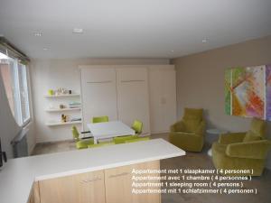 Küche/Küchenzeile in der Unterkunft Residentie Delta