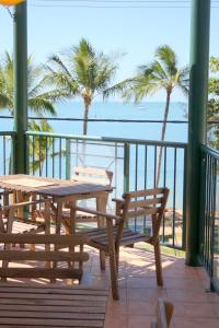 A balcony or terrace at Magnetic Sunsets Resort