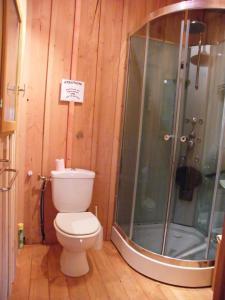 Salle de bains dans l'établissement Particulier