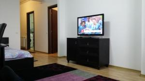 A television and/or entertainment center at Studio Eduard