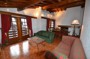 A seating area at Chalet Arnica