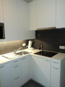 Küche/Küchenzeile in der Unterkunft For Ever