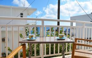 A balcony or terrace at Georgias Apartments