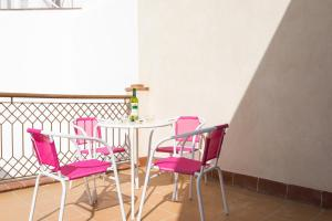 A balcony or terrace at Green-Apartments Plaza Nueva