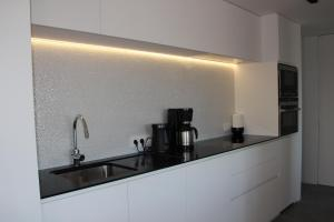 A kitchen or kitchenette at Duplex Penthouse Plaza