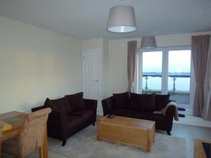 A seating area at Mayeston Rise