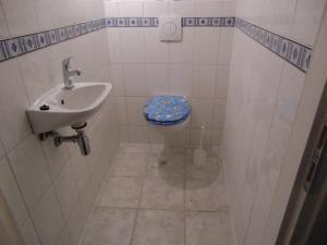 Ein Badezimmer in der Unterkunft Haus Janne