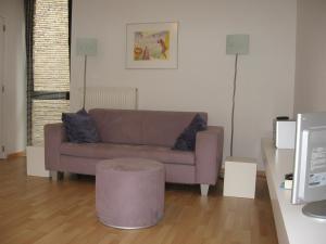 布魯日龐德艾特設計公寓休息區