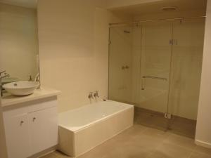 A bathroom at Absolute Waterfront