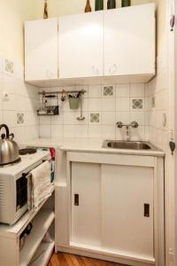 旅客之家公寓廚房或簡易廚房