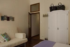 Area soggiorno di Botticelli Charming Apartment