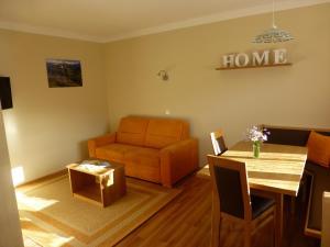 Posezení v ubytování Das Apartment Binder