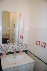 Kúpeľňa v ubytovaní Panorama Apartman 56-C Donovaly