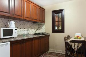 A kitchen or kitchenette at Sultanahmet Suites