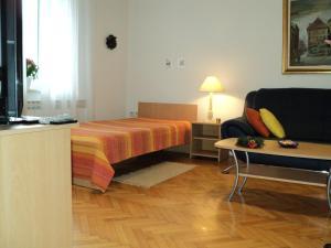 Cama o camas de una habitación en Apartment Horvat