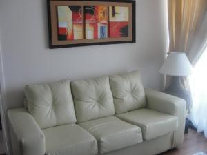 Zona de estar de Apartment Las Heras
